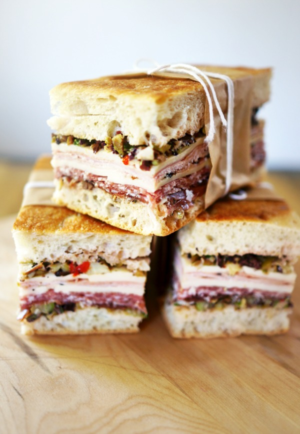 muffaletta sandwich recipe plus eight great Cajun recipes to celebrate Mardi Gras