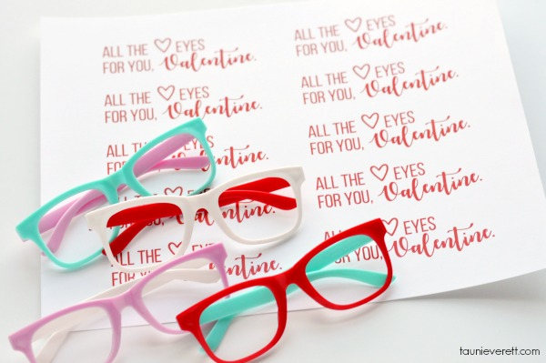 Heart Eyes Valentine's Printables