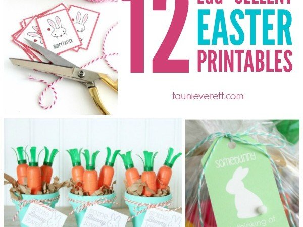 12 Free Easter Printables