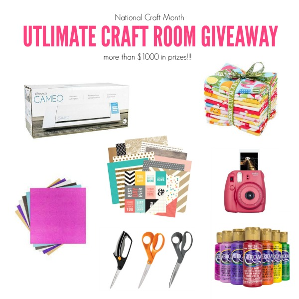 Ultimate Craftroom Giveaway