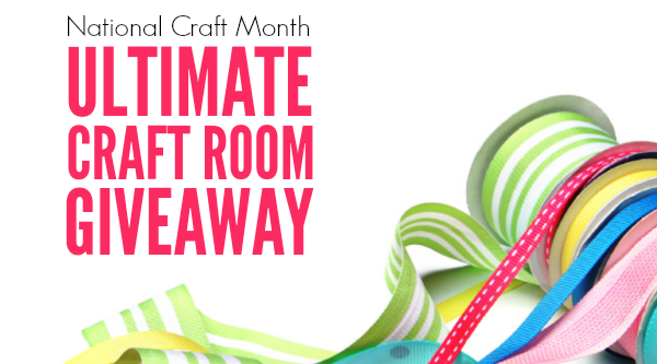 National Craft Month Giveaway 1
