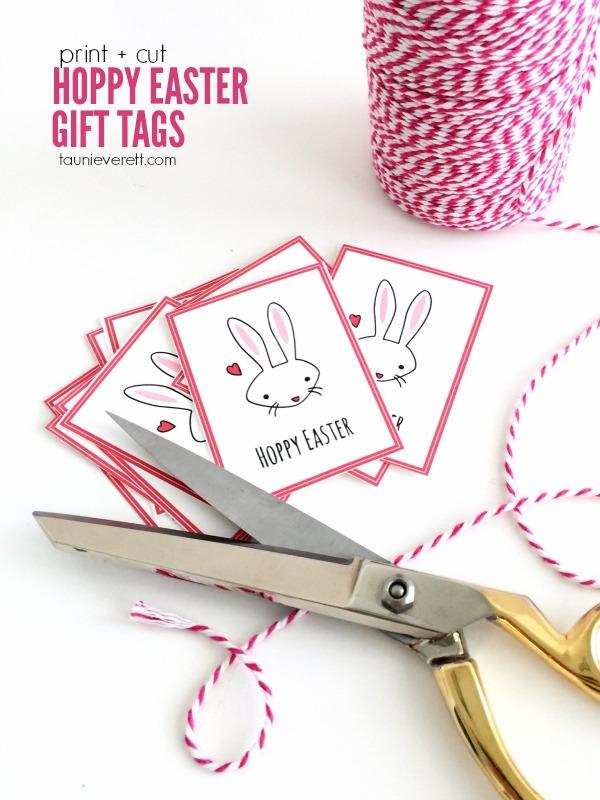 Hoppy easter gift tags 8 2