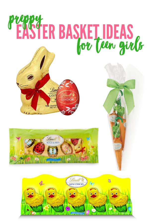 Preppy Easter Basket Ideas for Teen Girls