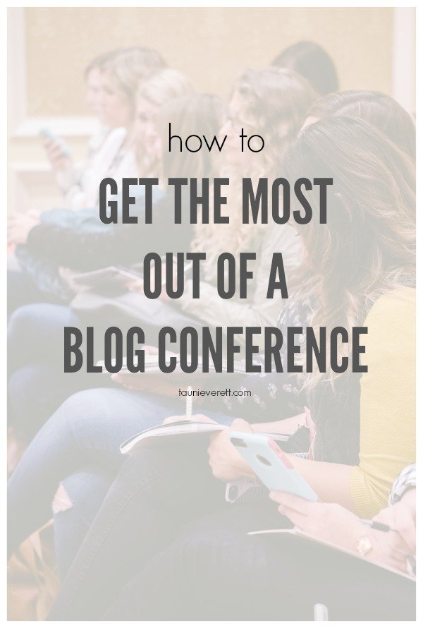 How to get the most out of a blog conference