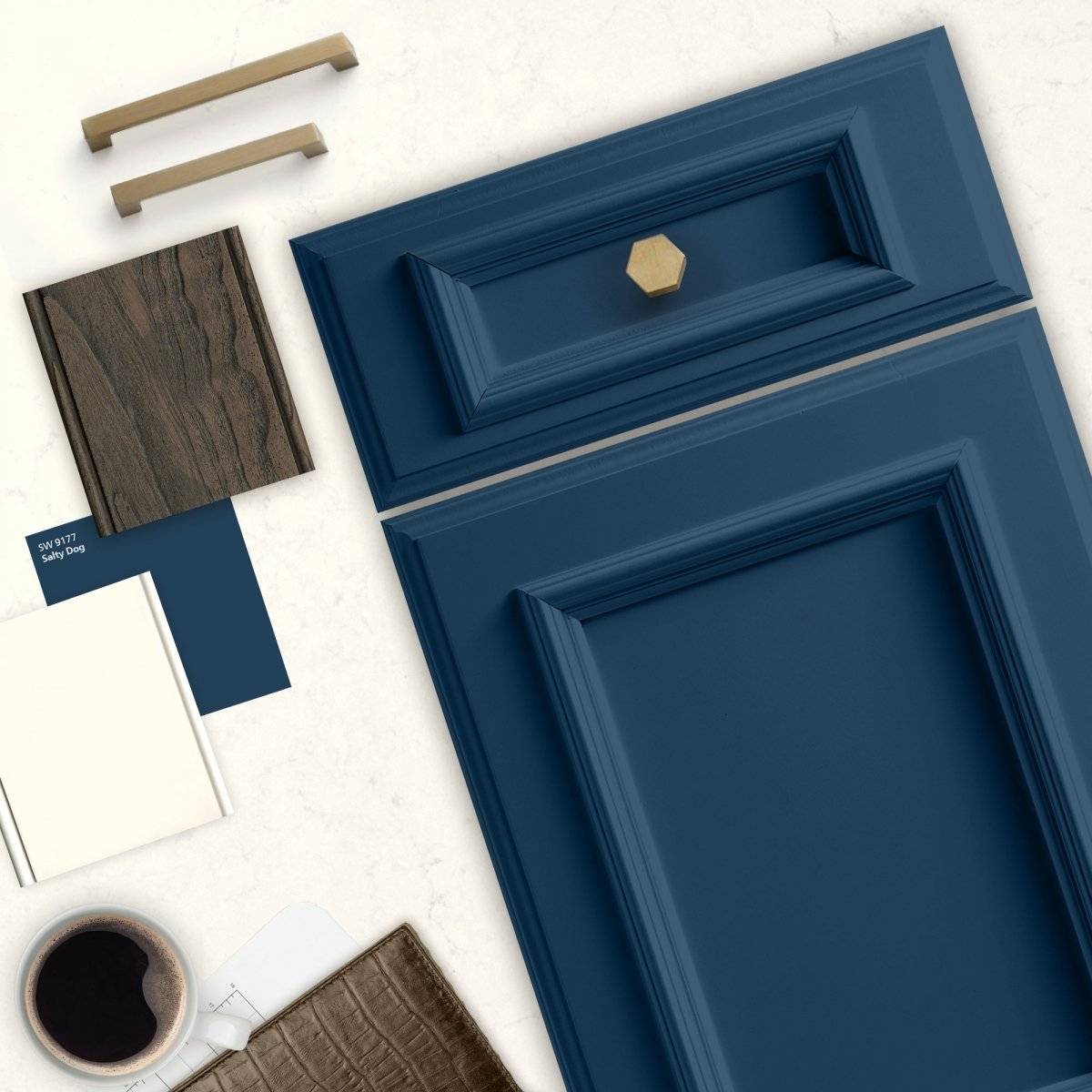 Sherwin Williams Salty Dog Check Out The Best Navy Blue Paint Curly Available On Market