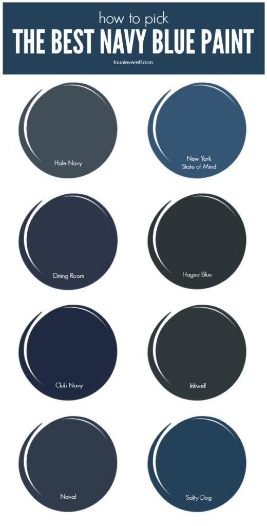Check out the best navy blue paint currently available on the market.