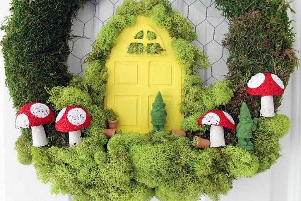 diy fairy garden wreath-009