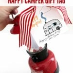 Free Print + Cut Father's Day Camping Gift Tag
