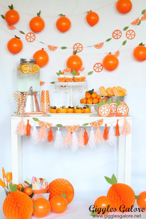 Orange you glad its summer kids party