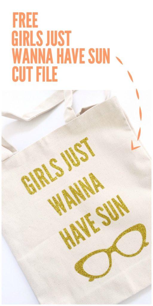 Girls just wanna have sun cut file hero © tauni everett