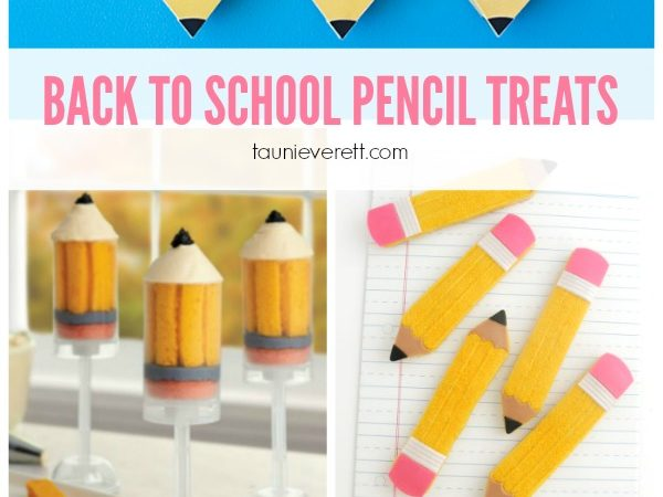 10 Perfect Pencil Treats for Back to School