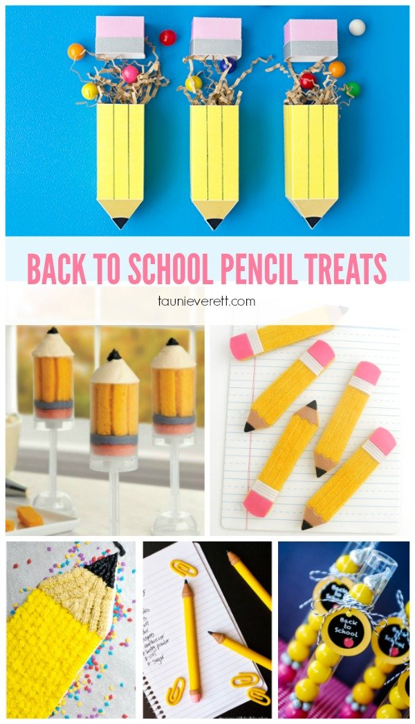 DIY bubble gum pencil party favors