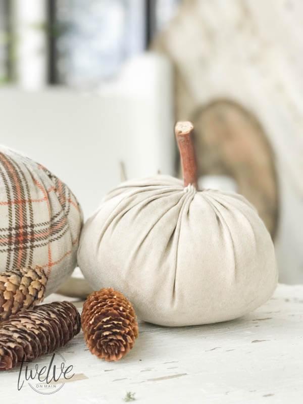 Diy fabric pumpkins 5 of 6
