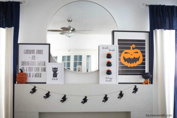 Halloween home tour 7 © tauni everett