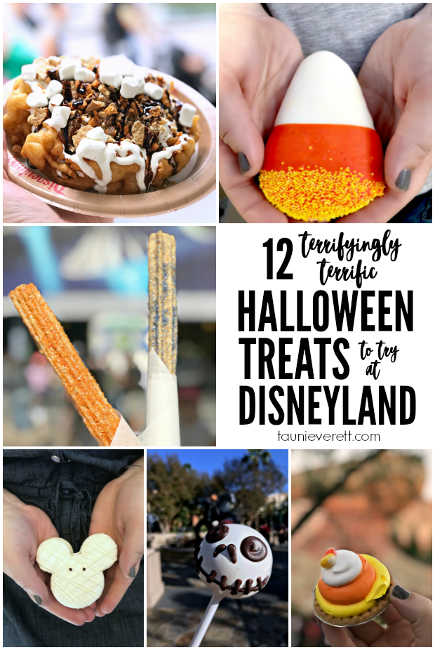 Traveling to Disneyland for Halloween? Don't miss how we saved enough on our vacation to buy these Halloween treats at Disneyland!