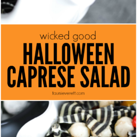 Wicked good halloween caprese pasta salad hero © tauni everett