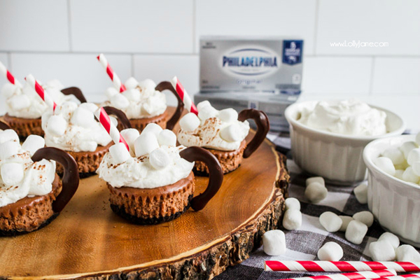 Chococolate cheesecake mini recipe