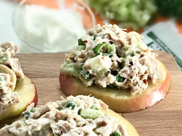 Apple Tuna Salad Bites Recipe