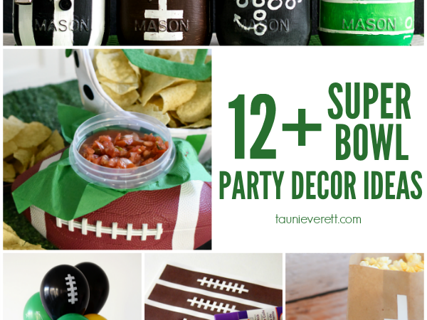 12+ Super Bowl Party Decor Ideas