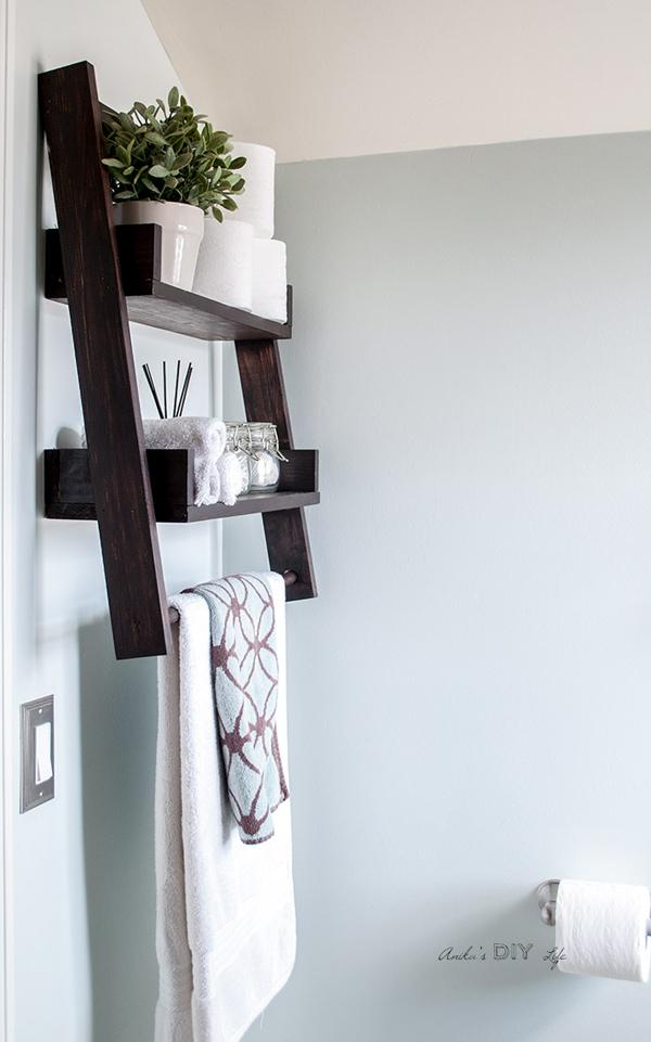 Diy sloating ladder shelf anikas diy life 700 14