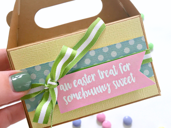 Print + Cut Somebunny Sweet Gift Tag