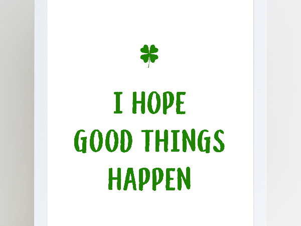 St. Patrick's Day Art Print