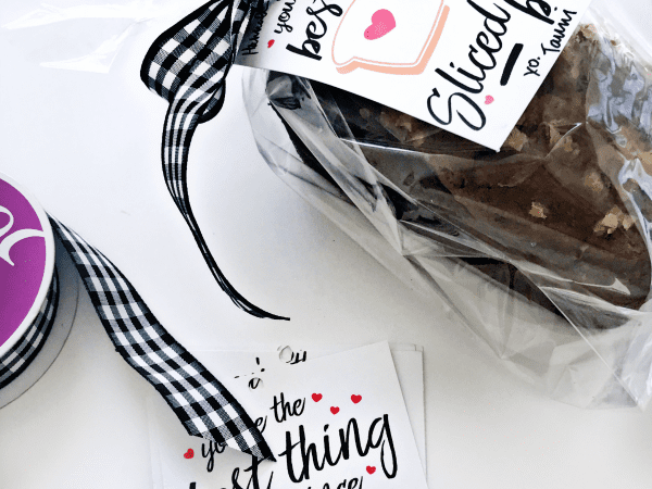 Bread Loaf Printable Gift Tags