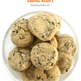 Salted caramel chocolate chip cookie recipe 6600 © tauni everett 2018