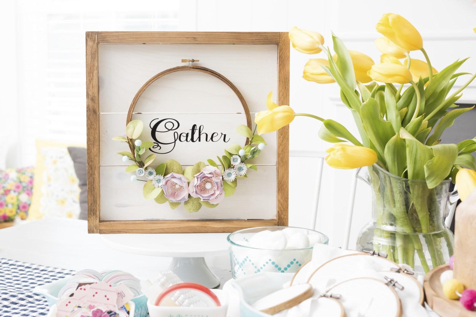 Gather flower art