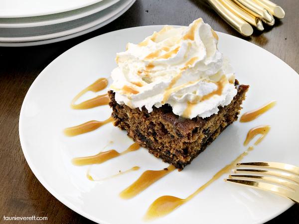 Pumpkin Butterscotch Cake Recipe. Perfect fall dessert. #pumpkin #pumpkinspice #butterscotch #pumpkindessert