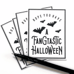 Fangtastic Halloween Printable