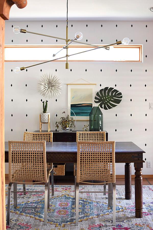 Modern southwest dining room1