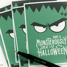 Monsterously Great Halloween Printable