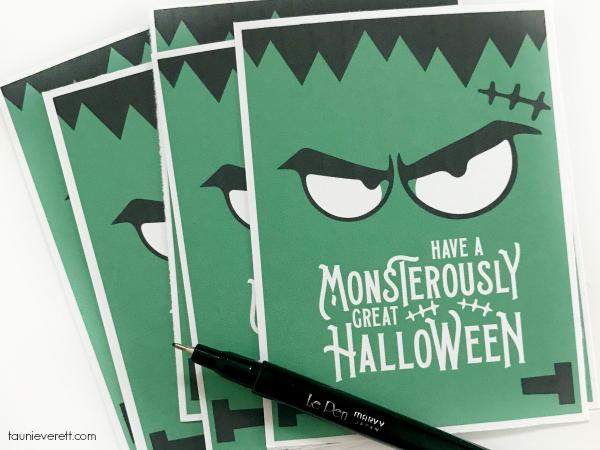 Monsterously great halloween printable @ tauni everett 2018 3 600