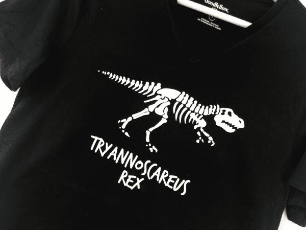 Tyrannosaurus Rex Halloween Cut File