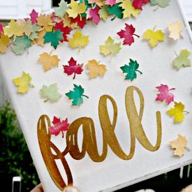 Fall Watercolor Art for Kids