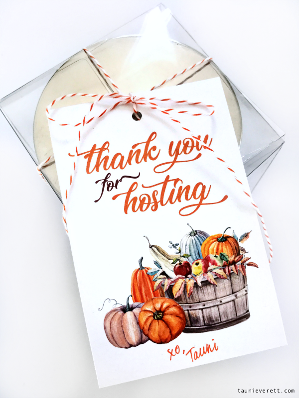 Thanksgiving hostess gift tag © tauni everett 7 600