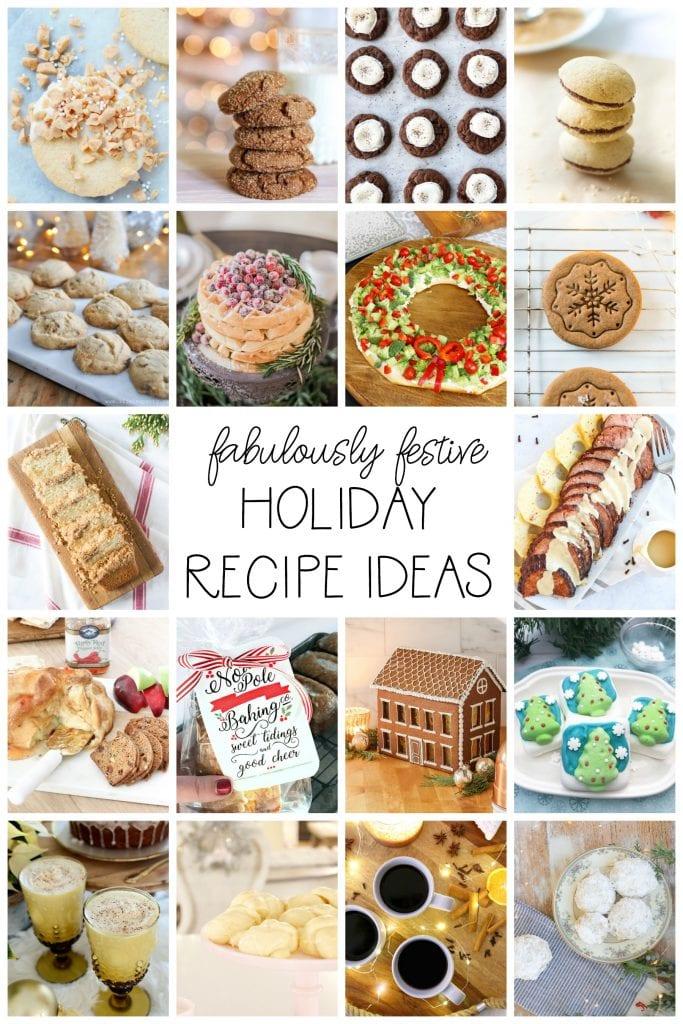 Fabulously festive holiday recipe idea