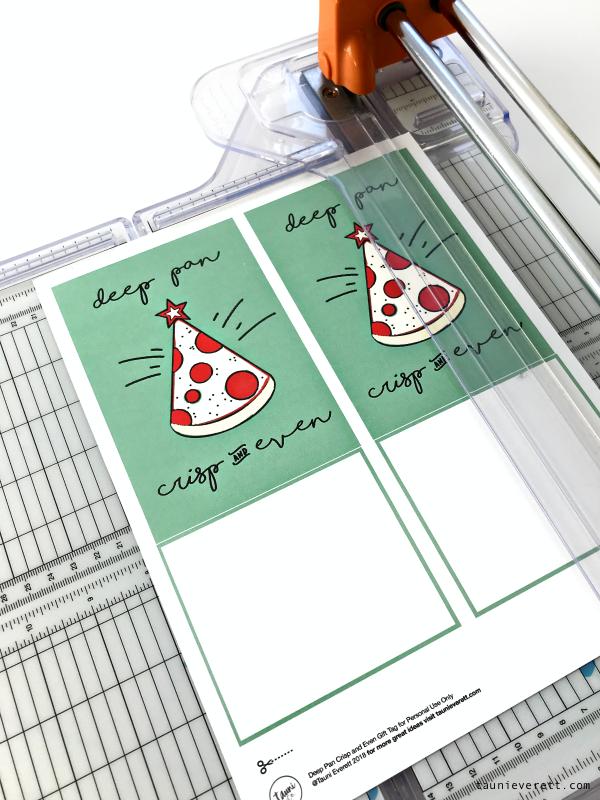 Pizza christmas printable gift idea © tauni everett 1 600