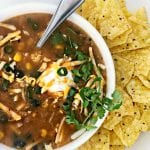 Instant pot eight can taco soup © tauni everett 1 600