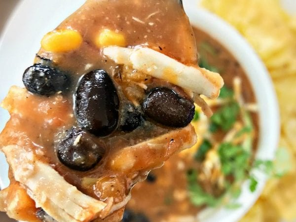 Instant Pot Eight Can Taco Soup (TEN MINUTES!)