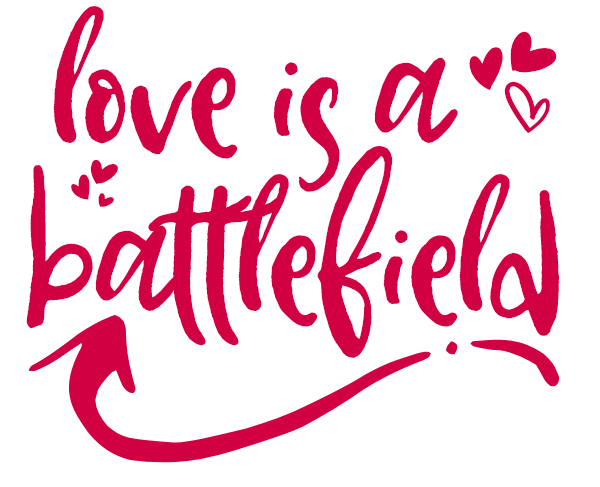 Love is a Battlefield cut file and DIY Valentine's Day shirt. #cutfile #cricut #silhouette #valentinesday #valentinecutfile