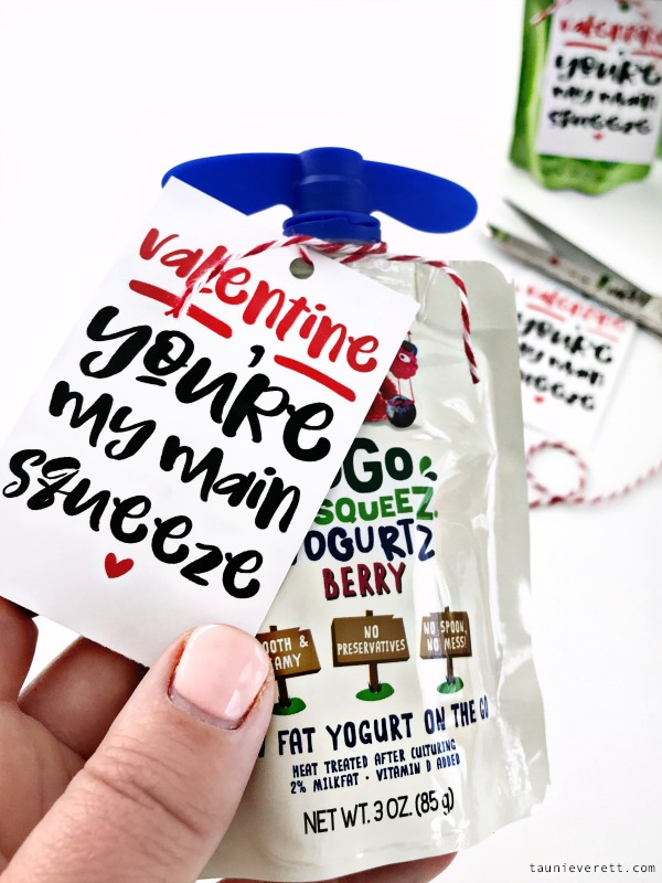 Main squeeze valentines day printable. Immediate download. #freeprintable #valentinesday #valentine #mainsqueeze #printablevalentine