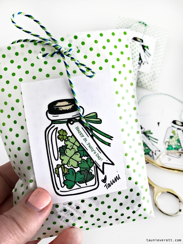 Mint Patty St. Patrick's Day Printable + Gift Idea #stpatricksday #printable #stpatricksdayprintable #stpattysday