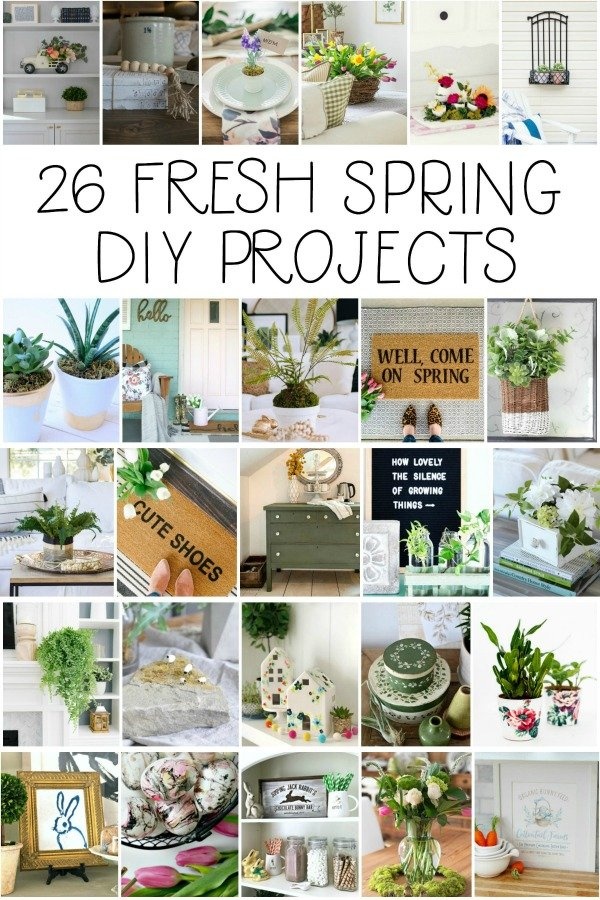 More than two dozen fresh DIY projects for spring!