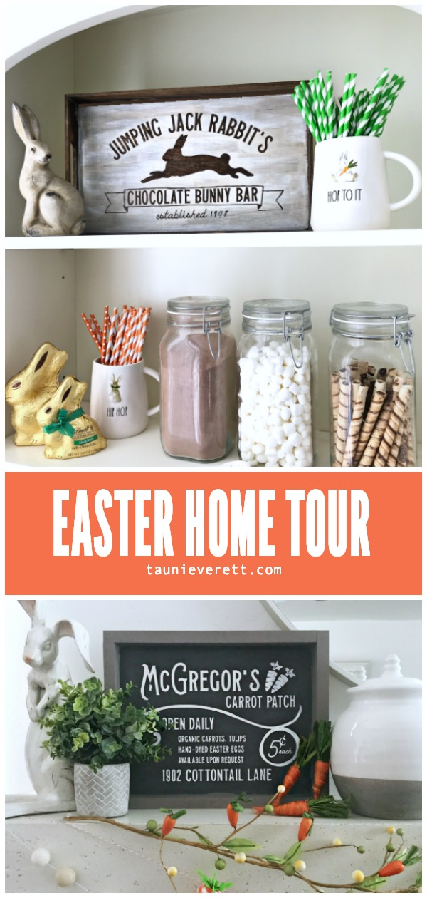 Easter crafts and home decor ideas spring home © tauni everett hero