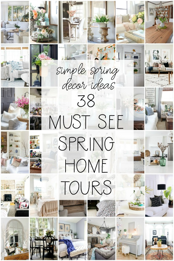 Simple spring decor ideas 38 must see spring home tours