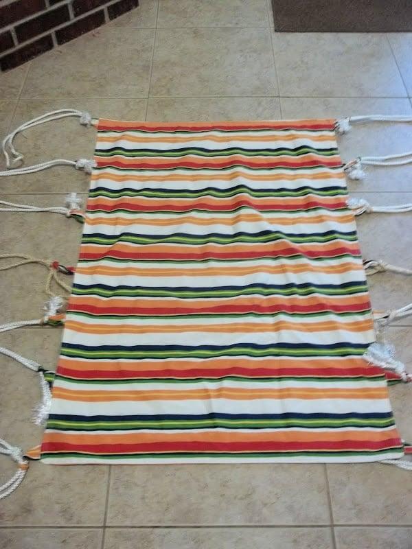 Diy hammock swing tutorial 14