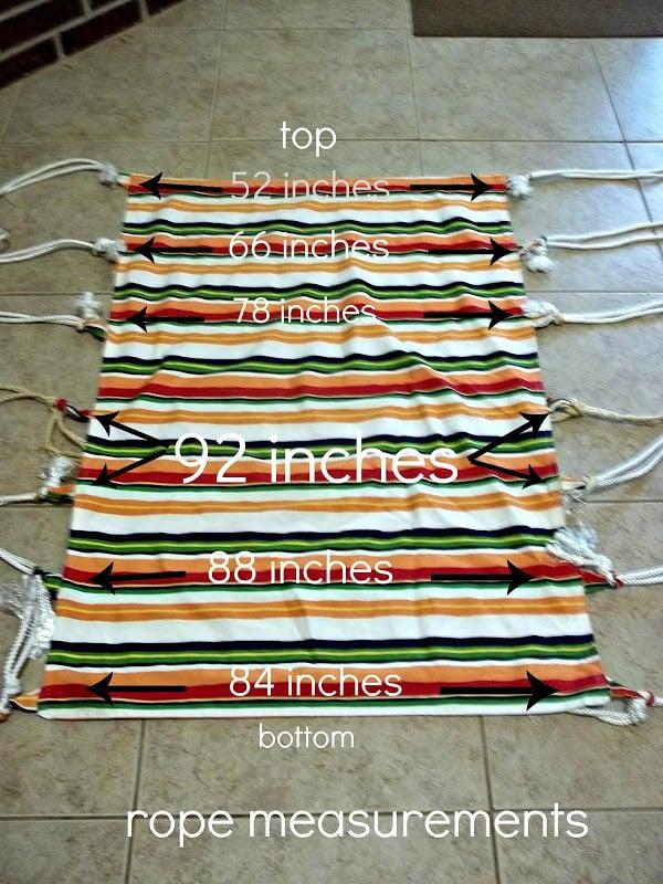 Diy hammock swing tutorial 8