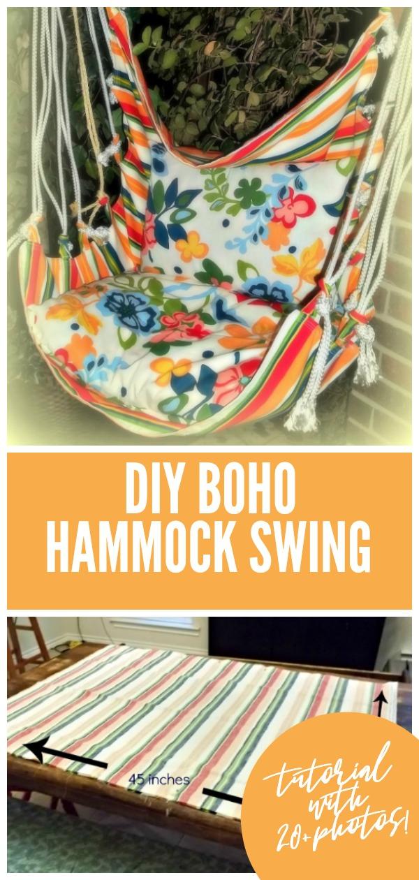 Diy hammock swing tutorial feature